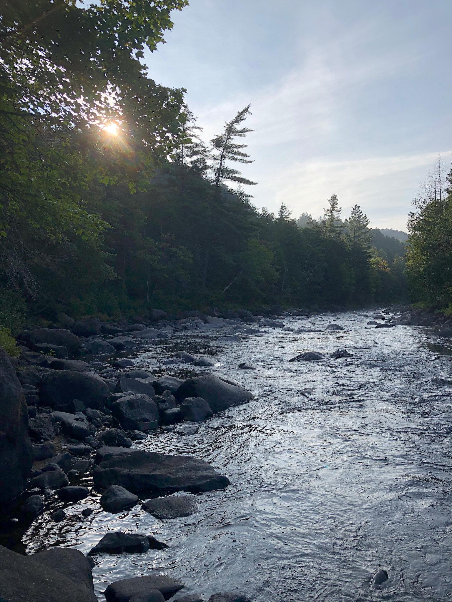 Rivière Ouareau.