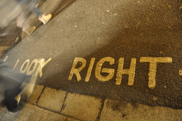 Look right!