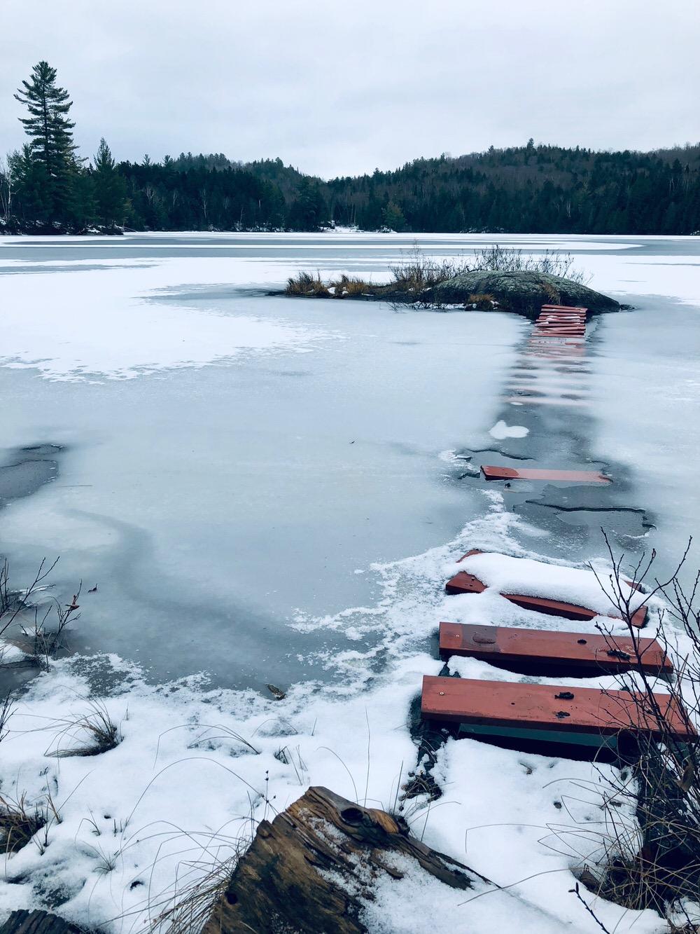 Petit Lac Caribou (pont)
