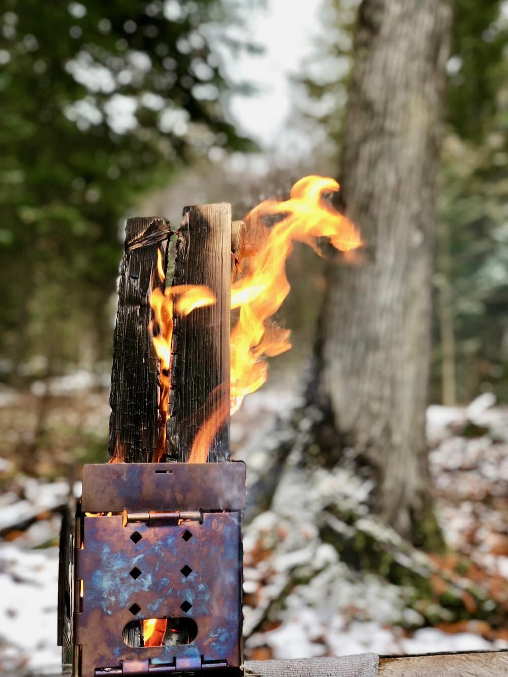 Feu dans une Firebox