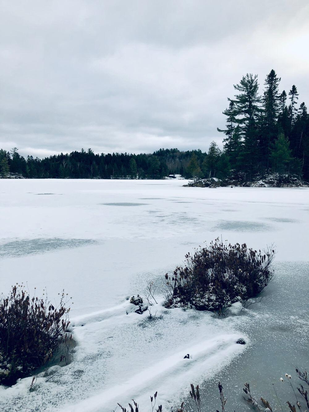 Petit Lac Caribou, l'autre côté