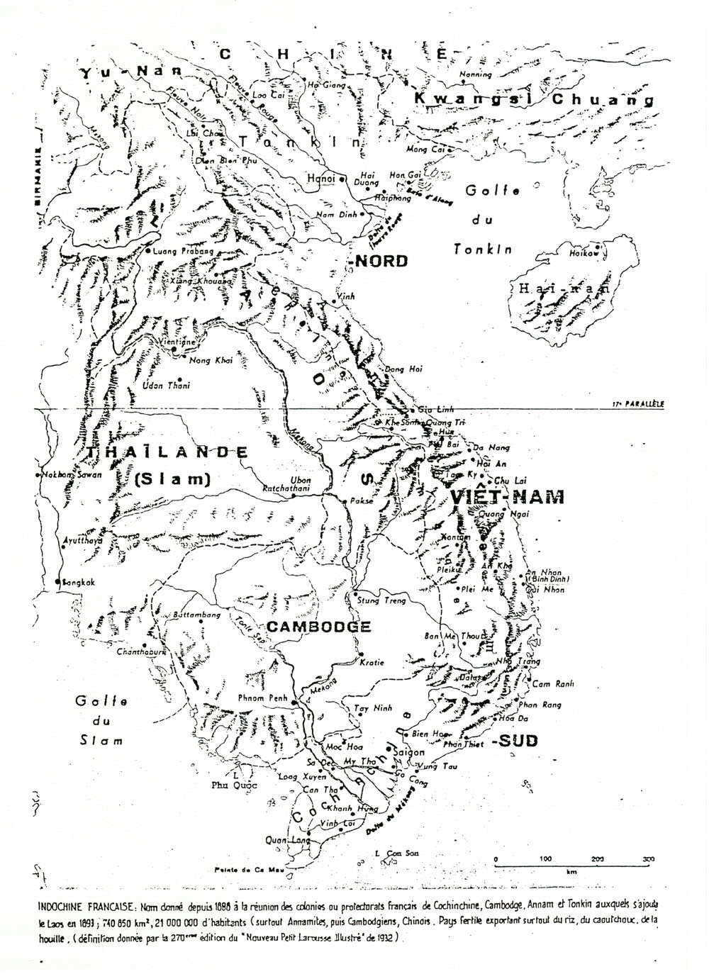 Carte du Viêt-Nam, version scannée